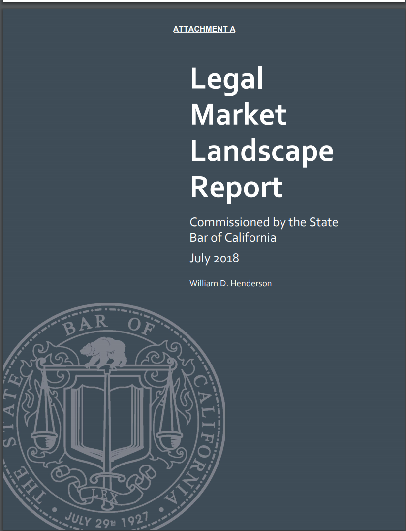 Legal Market Landscape Report